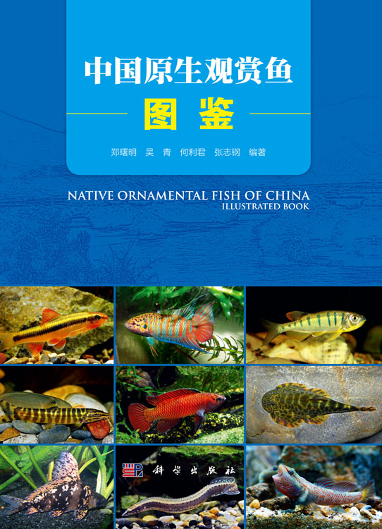 中国原生观赏鱼图鉴_动物学_生命科学_图书分类_科学