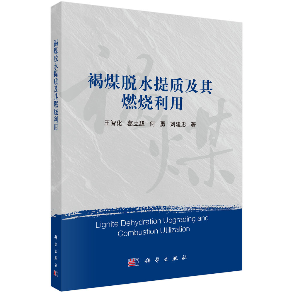 褐煤脱水提质及其燃烧利用= Lignite Dehydration Upgrading and Combustion Utilization