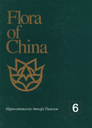 中国植物志第六卷(英文卷)(Flora of china ,Vol6)